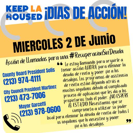 Tome Acción para una #RecuperaciónSinDeuda para #MantenerLAAlojadex